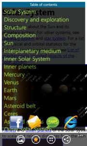WikiRama Free Fullscreen Table Of Contents