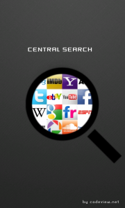 Central Search for Windows Phone Splashscreen