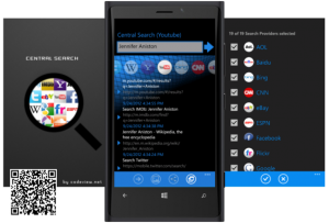 Central Search for Windows Phone Overview