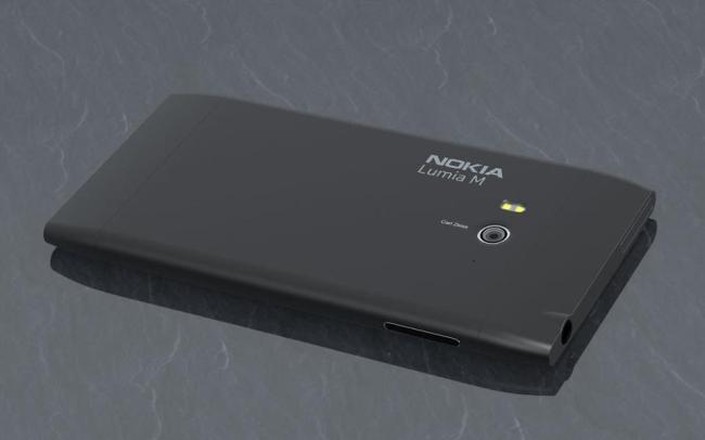 Nokia Lumia M (Back)